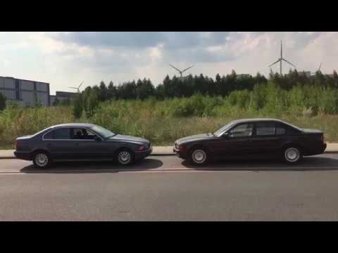 bmw 728i vs bmw 528i e38 vs e39 review and testfahrt. Black Bedroom Furniture Sets. Home Design Ideas