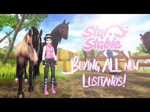 Buying ALL new Lusitanos! | Star Stable Updates