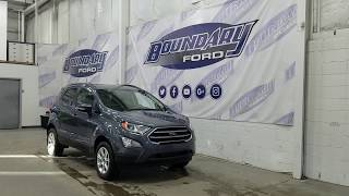 2018 Ford EcoSport SE W/ 2.0L, Cloth Overview | Boundary Ford