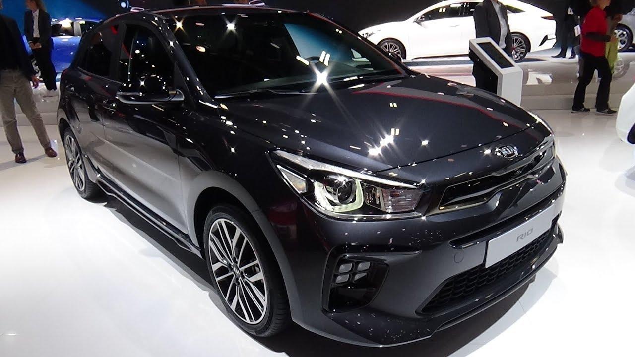 2019 KIA Rio 1 0 T-GDi 100 - Exterior and Interior - Paris Auto Show 2018