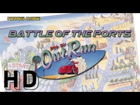 Battle of the Ports - Out Run アウトラン (show #10)