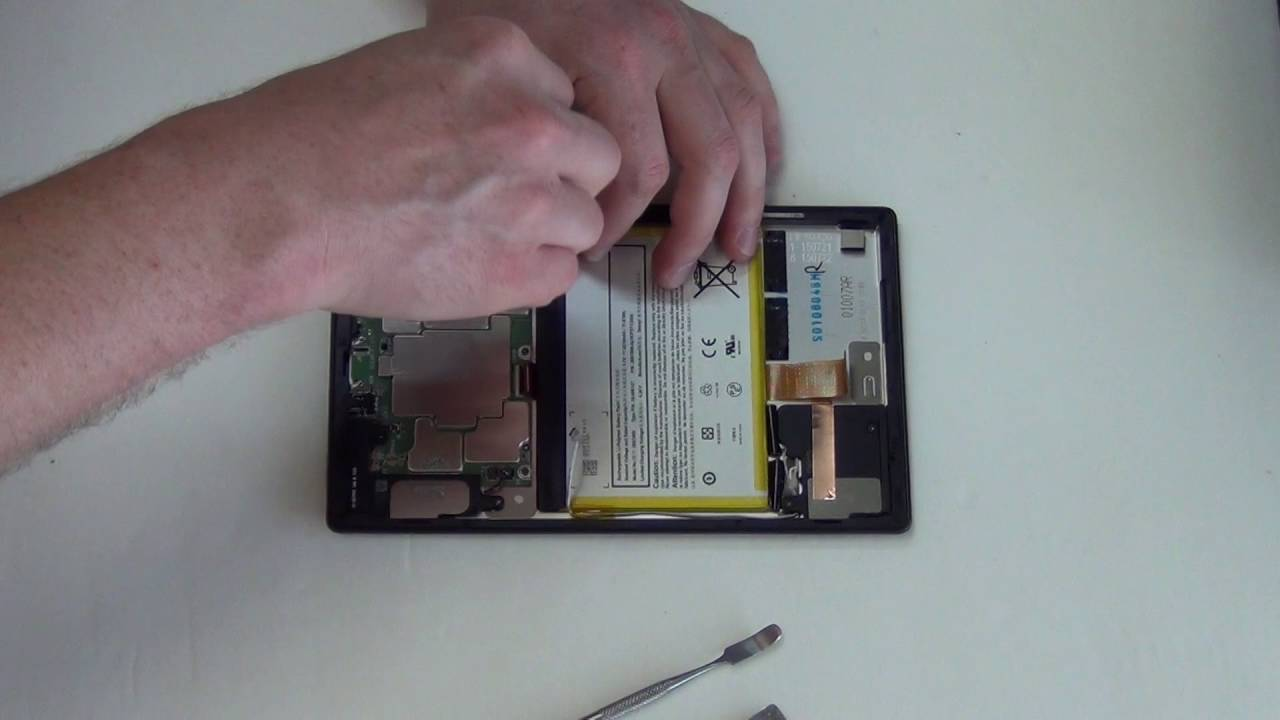 How to Take Apart the Kindle Fire HD 8 Model # SG98EG