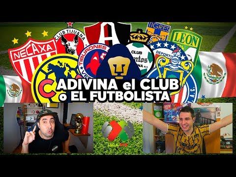ADIVINA EL CLUB FÚTBOL o FUTBOLISTA MEXICANO!