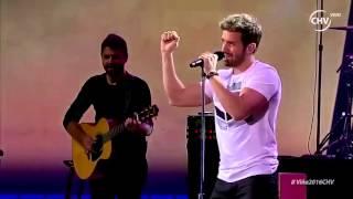"Pablo Alborán ""Un buen amor"" - Festival Viña del Mar 2016 HD"