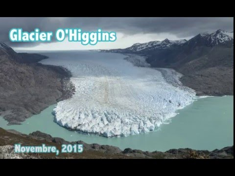 Climate Change in action - O'Higgins Glacier' Retreat in 3 months