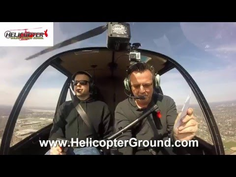 Student First Flight Class C Charlie Airspace Helicopter Online Ground School