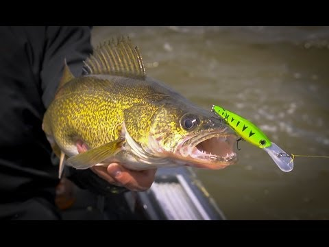 Smash Mouth Walleye on the Fox River at De Pere, WI - In-Depth Outdoors TV Season 8, Episode 22