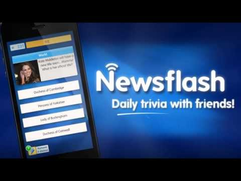 Newsflash - Play Daily Trivia With Friends from YouTube · Duration:  46 seconds