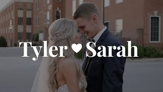 Bride's SONG brings groom to tears!!! {Tyler + Sarah // Our Wedding Video}