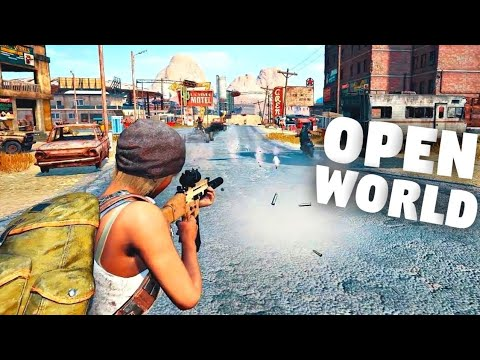 Top 10 Open World Games For Android | High Graphics |