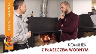 Kupujemy kominek marzeń odc.5 - Kominki wkłady z płaszczem wodnym jak podłączyć do c.o