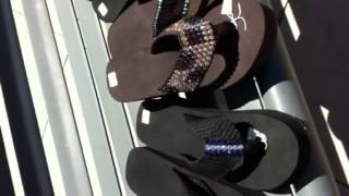 Sparkle into Summer Big D Style in Scandalous Flip Flops from Pappagallo Thumbnail
