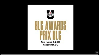 2018 U SPORTS BLG AWARDS thumbnail