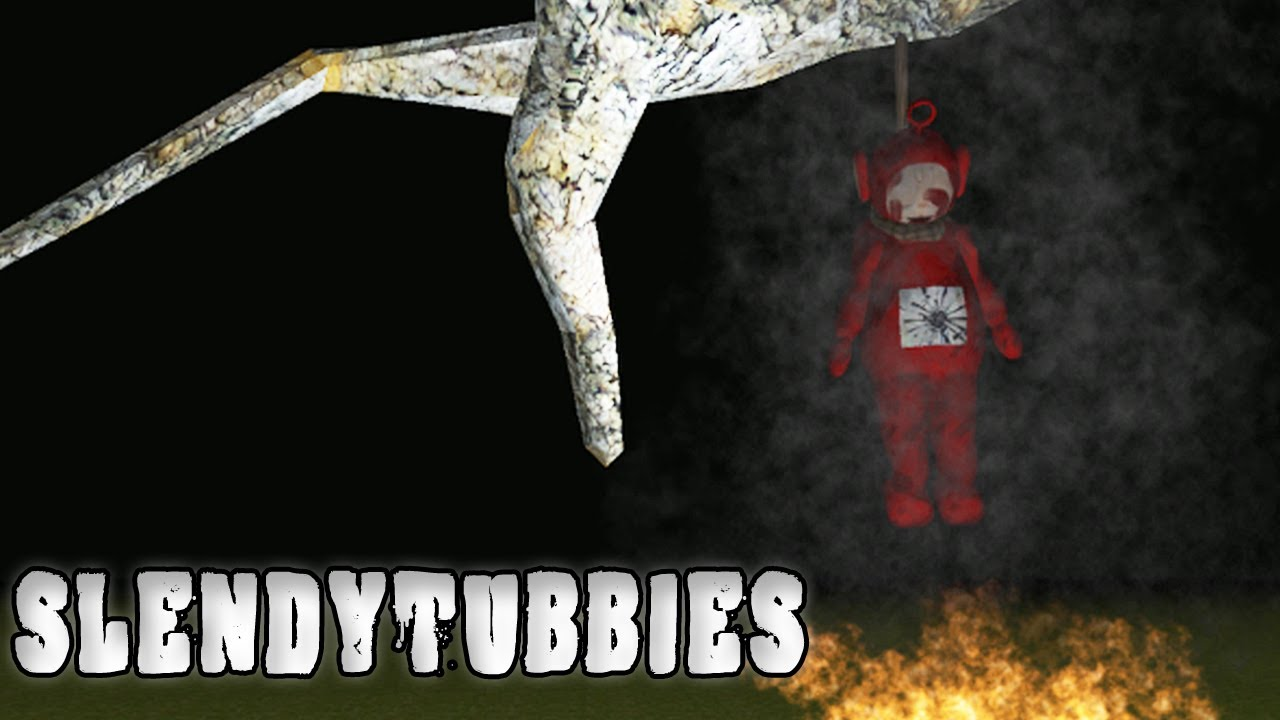 slender teletubbies