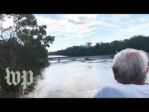 Florence is leaving, but the Cape Fear River is still rising