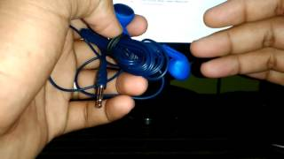 Unboxing and review of skull candy rail earphone overall view and t...