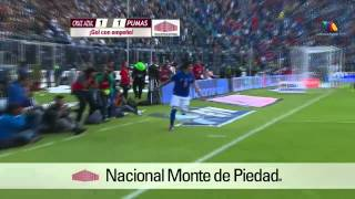 Cruz Azul 2-1 Pumas Clausura 2014 Jornada 17