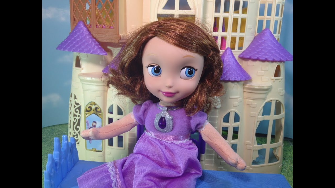 Sofia The First Bedtime Unboxing And Review Youtube