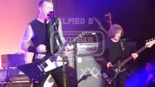 Metallica w/ Geezer Butler Sabbra cadabra / A national acrobat LIVE San Francisco, USA 2011-12-10