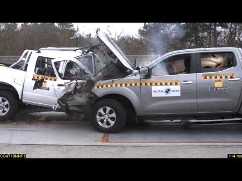 Africa's Shame! New African Nissan NP300 crumbles against second-hand European Nissan Navara NP300.