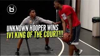 UNKNOWN HOOPER WINS 1v1 King Of The Court!
