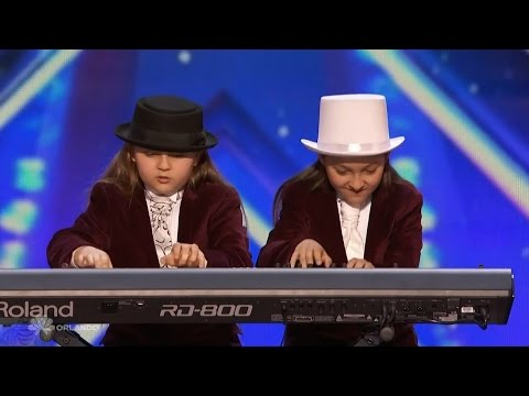 Americas Got Talent 2016 Elias & Zion Phoenix Twin Keyboardists Full Audition Clip S11E04