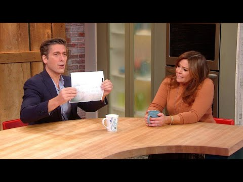 """A 7-Year-Old Wrote ABC """"World News Tonight"""" Anchor David Muir The Sweetest Note"""