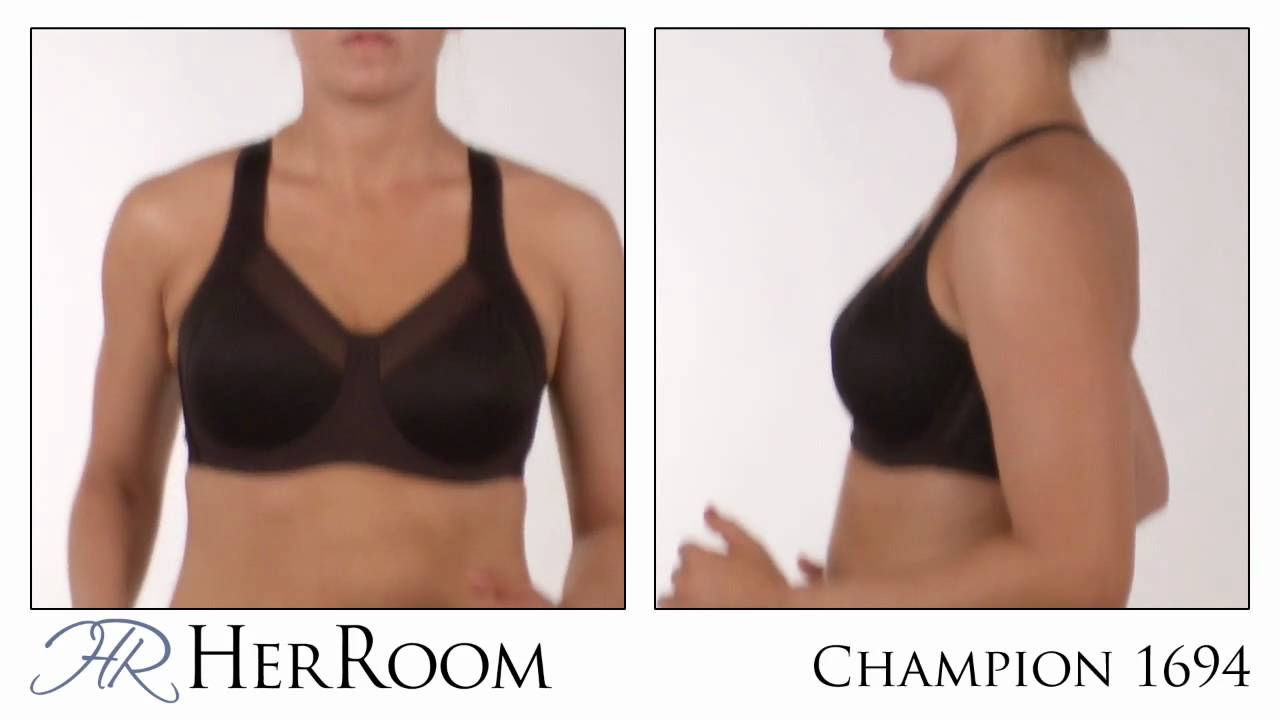 c460445584030 The Bounce Test-Champion Powerback Underwire Sports Bra 1694 - YouTube