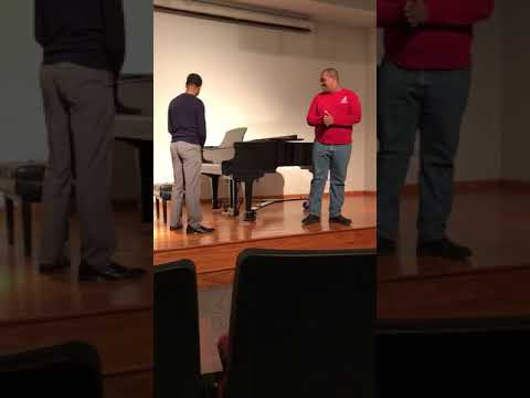 Two college students sing Spongebob's Without You