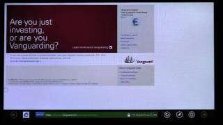 Metro style browsing in Windows 8