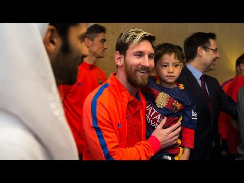 Afghan boy Murtaza Ahmadi joins FC Barcelona in Doha Mp3