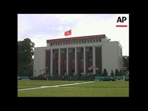 First session of the newly elected national assembly opens