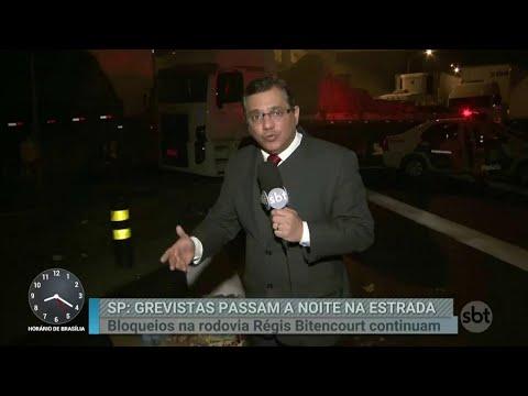 Veja como foi a madrugada de protestos em São Paulo | Primeiro Impacto (25/05/18)