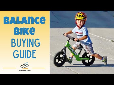 Balance Bike Reviews and Buying Guide of FirstBike, Early Rider, Strider, Kazam & more...