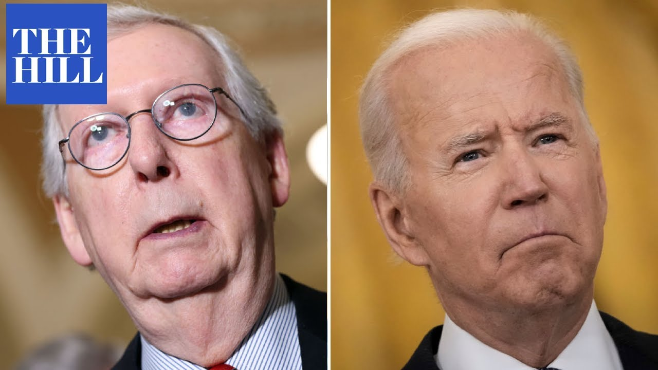 McConnell criticizes Biden over troop withdrawal, warns of Taliban resurgence