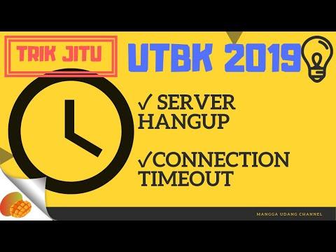 TRIK AMPUH ATASI SERVER HANGUP DAN CONNECTION TIMEOUT UTBK 2019