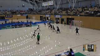 2018IH 女子ハンドボール 2回戦 佼成学園女子(東京都) 対 郡山女子大附(福島県)
