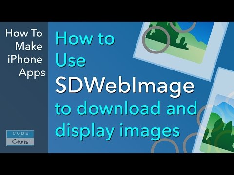SDWebImage Tutorial - Display images from a URL - YouTube