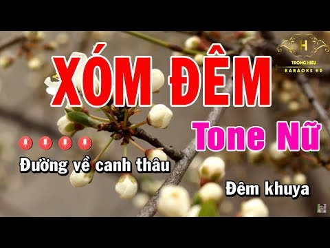 karaoke-xóm-Đêm-tone-nữ-nhạc-sống-|-trọng-hiếu