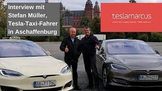 Tesla-Taxi-Fahrer Stefan Müller - Interview in Aschaffenburg
