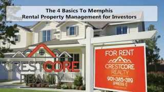 The 4 Basics to Memphis Rental Property Management for Investors
