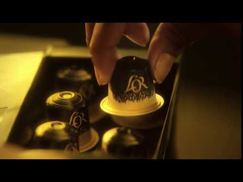 Publicité L'OR - capsule espresso aluminium