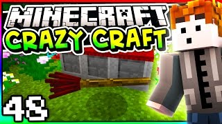 Minecraft: Crazy Craft 3.0 - Episode 48 - ENCHANTED BROOM!