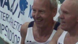 World Record M70 60m 8.09 Ancona 2016