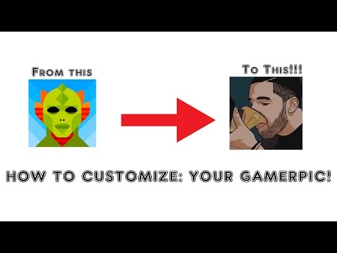 CUSTOM GAMERPIC ON XBOX 1?!?! (HOW TO!!!!)