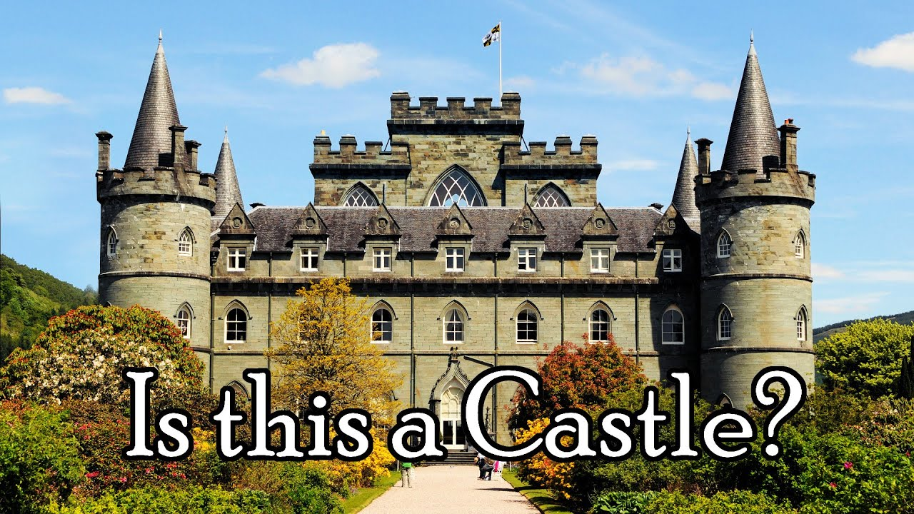what is a real medieval castle a stronghold fortress citadel or chteau youtube - Castle