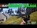 Holiday village in Rust game Bonus video / Holiday settlement in Rust / Rust recreational settlement