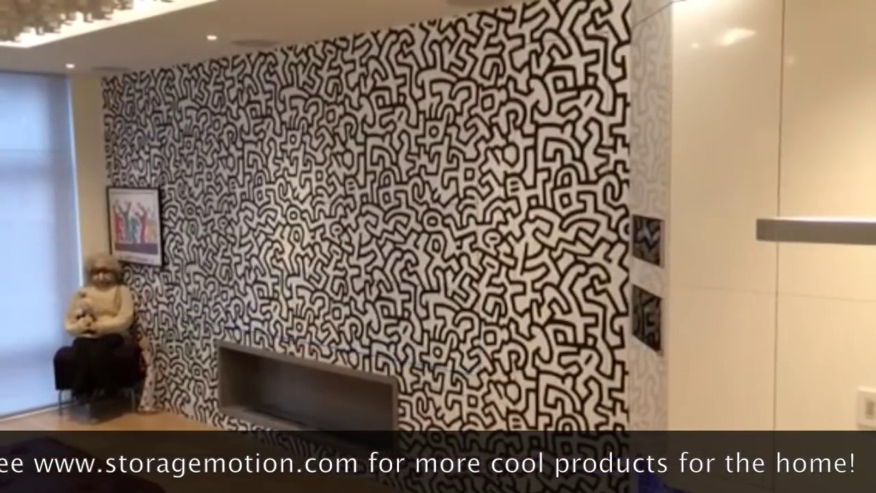 Finest Homes - Automated Door to conceal TV & Finest Homes - Automated Door to conceal TV - YouTube pezcame.com