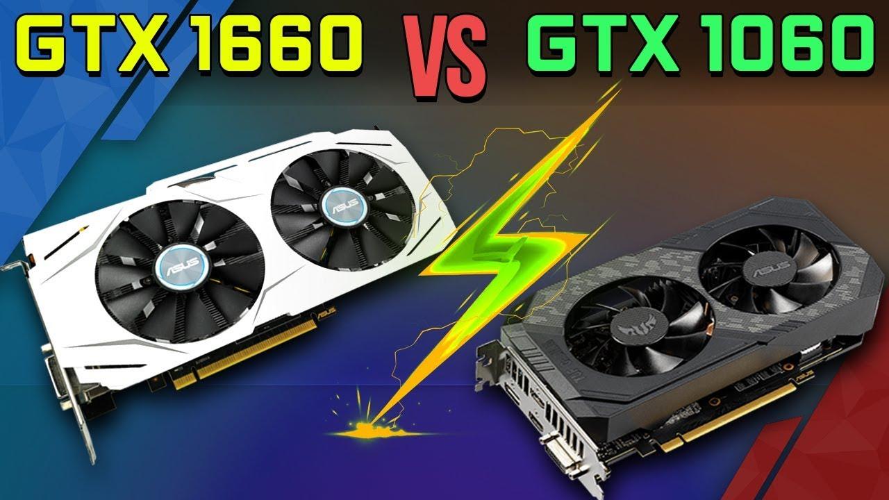 So Sánh GTX 1660 vs GTX 1060: Giá Không Đổi, Hiệu Năng Vượt Trội