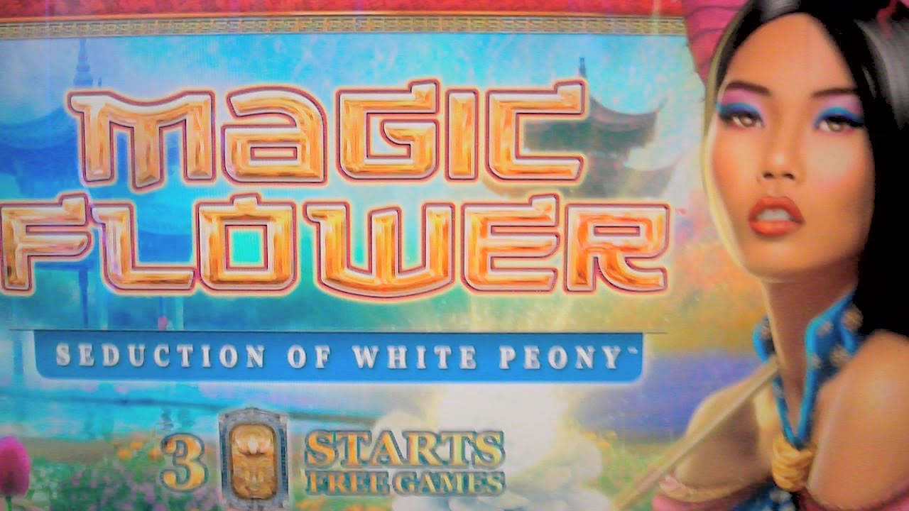 magic flower slot machine
